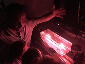 physique des lasers, laser helium neon